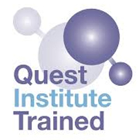 Quest Institute Trained Logo Cognitive Hypnotherapy